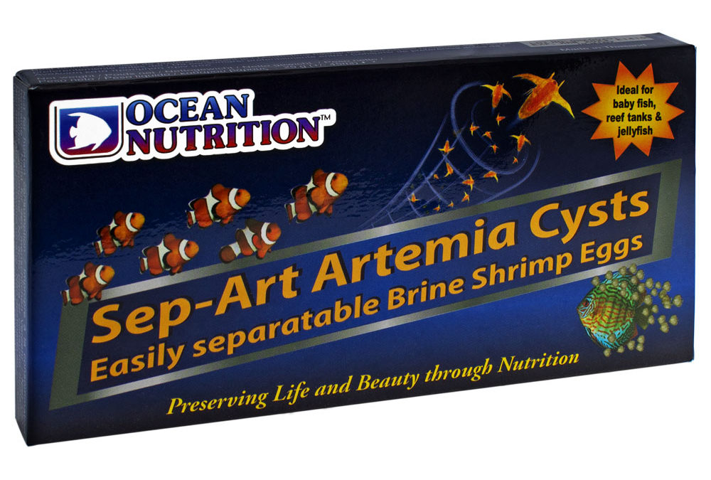 Ocean Nutrition Brings Sep-Art Brine Shrimp to the U.S.