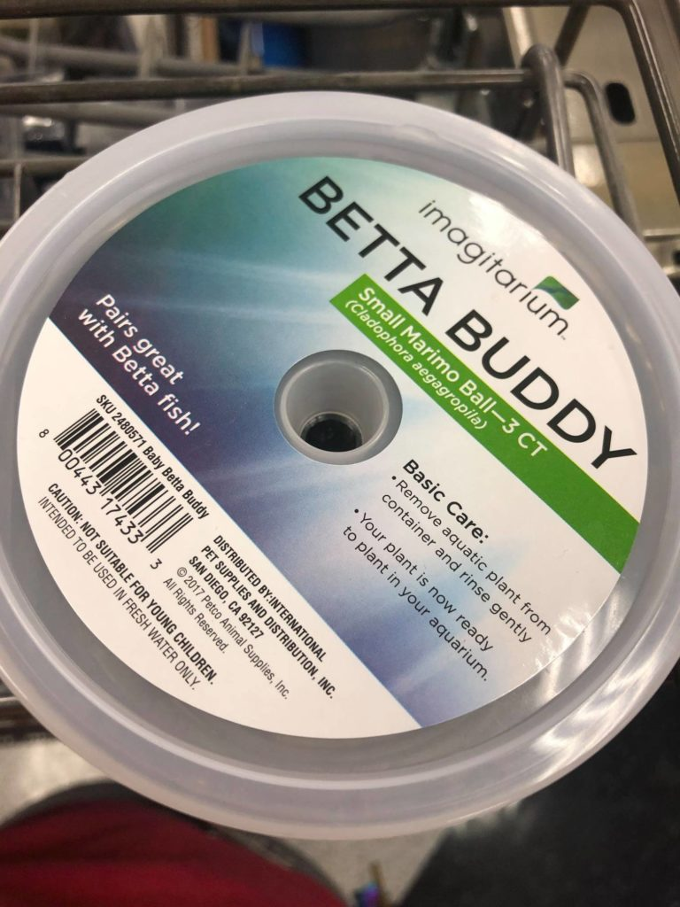 """Coast Fork Willamette Watershed Council included this image of an imagitarium package with their announcement, suggesting that the """"Betta Buddy"""" brand is of particular interest."""