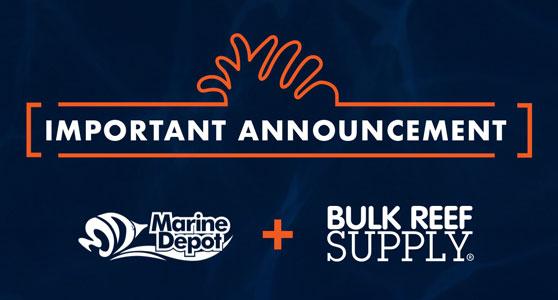 eCommerce retailer, Bulk Reef Supply, has acquired Marine Depot