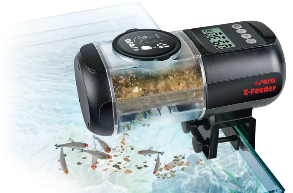 sera's new X-Feeder includes multiple design features to prevent the intrusion of moisture into the aquarium food storage compartment.